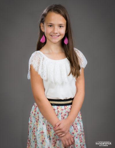 school photos of pretty girl