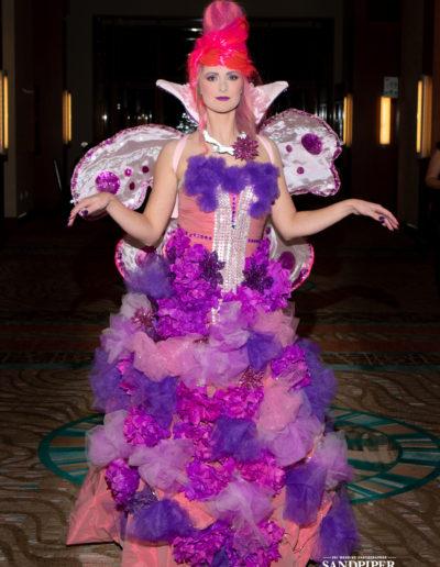 Christmas Tree Dress Fashion Show 12