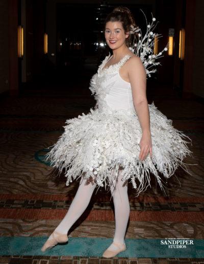 Christmas Tree Dress Fashion Show 7
