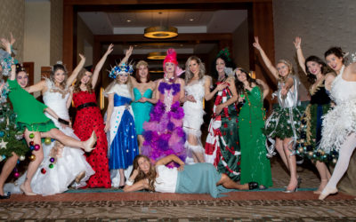 4th Annual Christmas Tree Dress Fashion Show in Support of Santa's Angels
