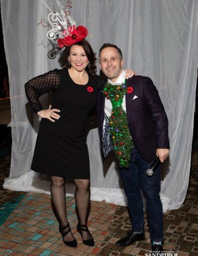 Christmas Tree Dress Fashion Show 19