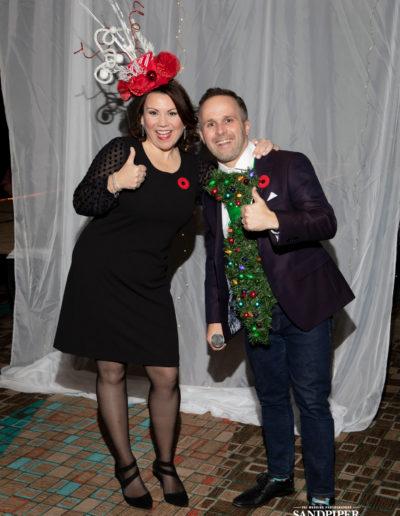Christmas Tree Dress Fashion Show 16