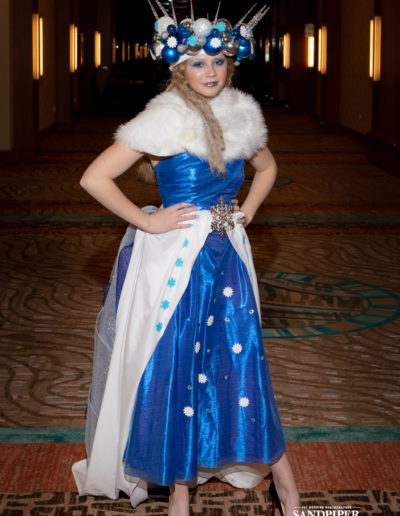 Christmas Tree Dress Fashion Show 20