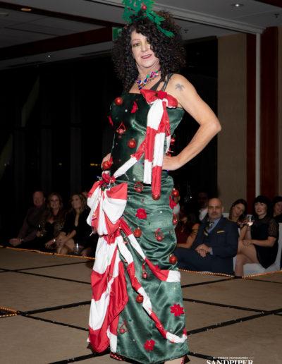 Christmas Tree Dress Fashion Show 21