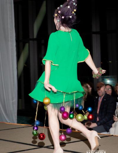 Christmas Tree Dress Fashion Show 22