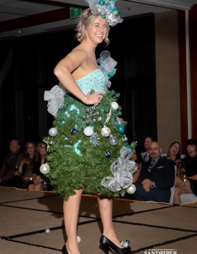 Christmas Tree Dress Fashion Show 23