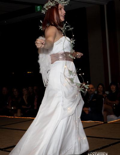 Christmas Tree Dress Fashion Show 24