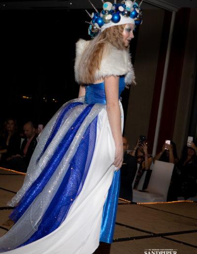 Christmas Tree Dress Fashion Show 46