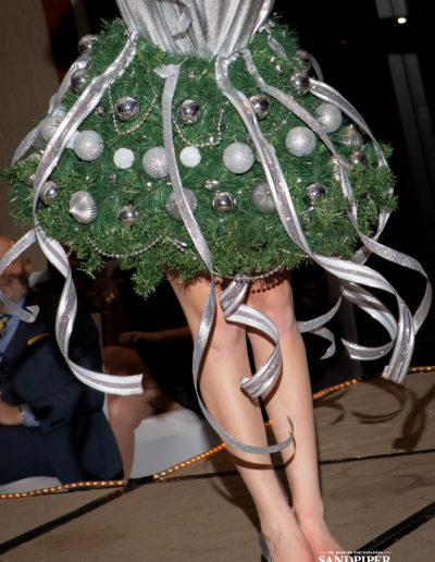 Christmas Tree Dress Fashion Show 45
