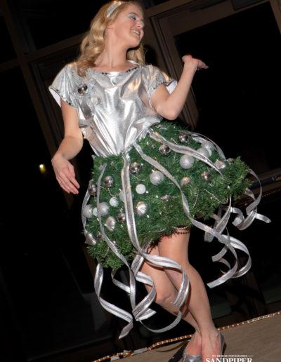 Christmas Tree Dress Fashion Show 44