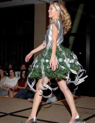 Christmas Tree Dress Fashion Show 43