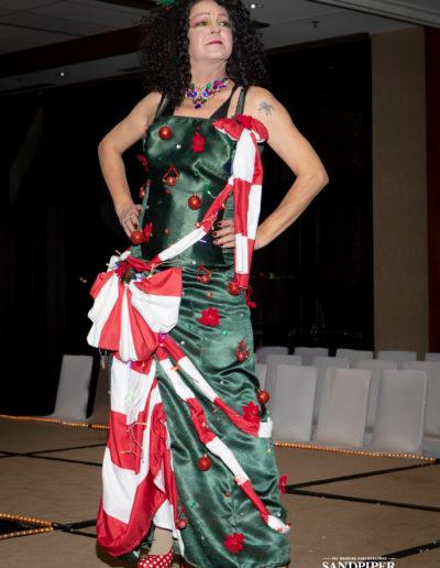 Christmas Tree Dress Fashion Show 26