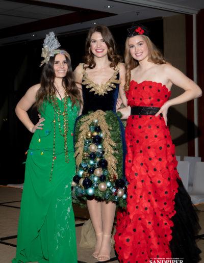 Christmas Tree Dress Fashion Show 42