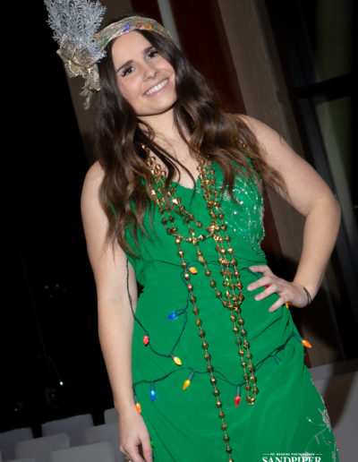 Christmas Tree Dress Fashion Show 29
