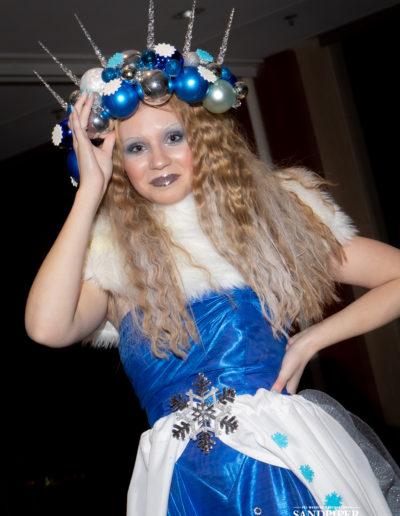 Christmas Tree Dress Fashion Show 28