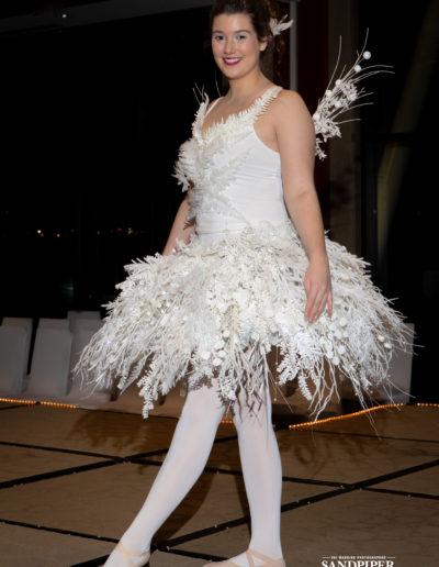 Christmas Tree Dress Fashion Show 34