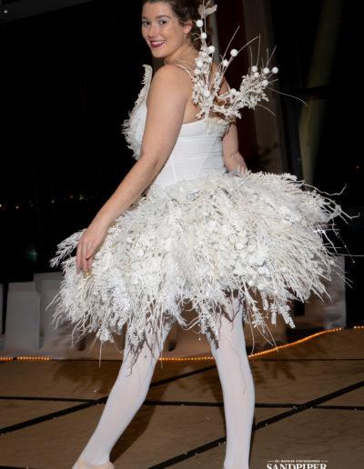 Christmas Tree Dress Fashion Show 35