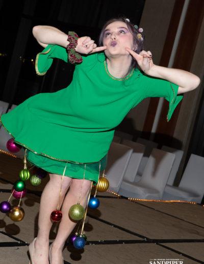 Christmas Tree Dress Fashion Show 32