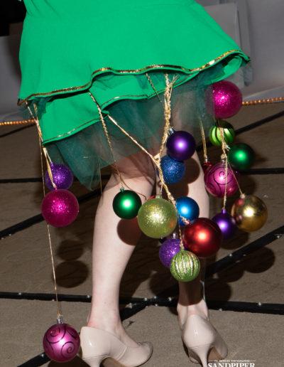 Christmas Tree Dress Fashion Show 33