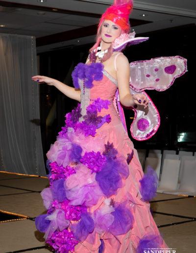 Christmas Tree Dress Fashion Show 37