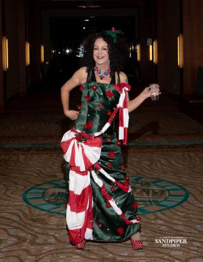 Christmas Tree Dress Fashion Show 5