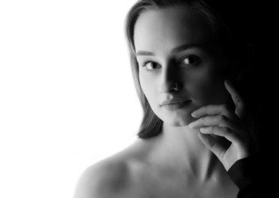 stunning black and white portraits