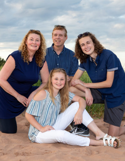 family portraits in PEI